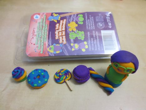 Quick Tutorial and Review on Sculpey Erasers by CandyChick