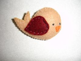 Little Birdie Brooch by pcmommy2b