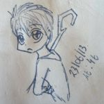 Chibi Jack Frost (done with a pen) :3 by Tolina