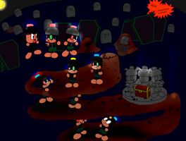 The Grave Diggers. by pikmin789