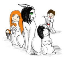 Ulquiorra's Pack by Icefoxer