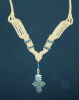 """Necklace """"Ethiopia"""" by Peter-The-Knotter"""