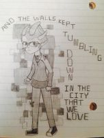 The Site Came Tumbling Down by vulcangirl14