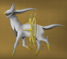 Arceus by Peagreen