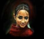Indian girl by Al-Ost