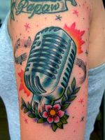 Traditional Microphone by mattymctatty