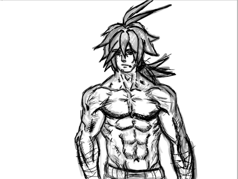 Final Battle Main Character Rough by mikeyfluffy