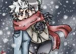 In the spirit of the X-mas by hinata4ever-alma