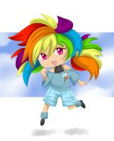 Rainbow Dash Chibi by Auguratricis
