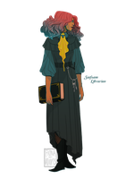[closed] Adopt - Seafoam Librarian by fionadoesadopts