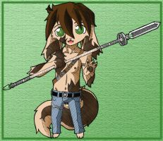 Animal Warrior by Kevichan