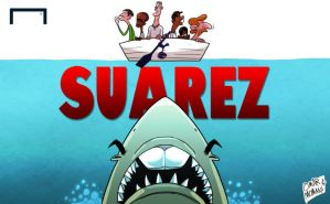 Lethal Suarez sinks Spurs by OmarMomani