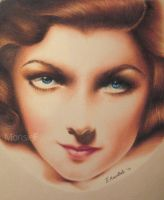 Myrna Loy by MonsieF