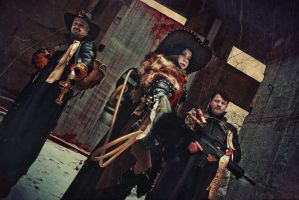 Warhammer 40000 cosplay: Inquisition is coming! by alberti
