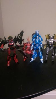 My fembot collection by Lilscotty