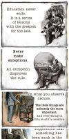 The Commandments of Sherlock Holmes by Windmaedchen