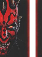 Darth Maul (Lightsaber) by MisunderstoodTim