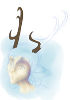 Faun Painting by Aetherium-Aeon
