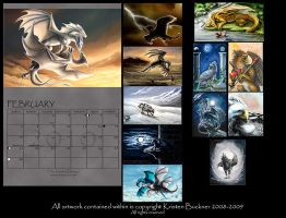 Calendar Sample - Cover by silvermoonnw