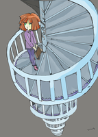 Shane - stairs to nowhere by Kell0x