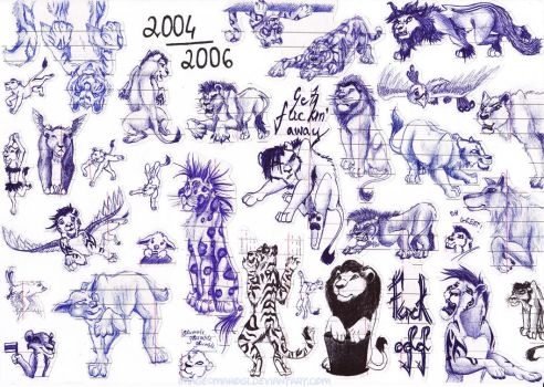Exercise book [2004-2006] by Mahogi
