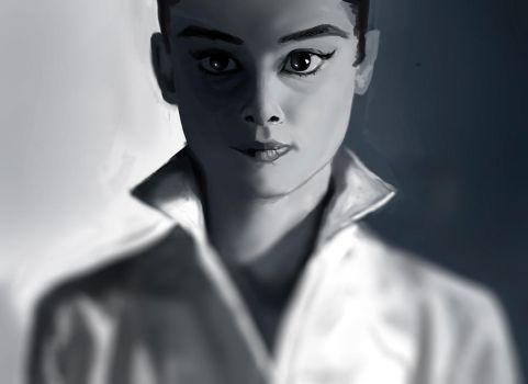 Audrey Study by ArlanEAkyl