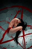 Vampirella 10 cover by PaulRenaud