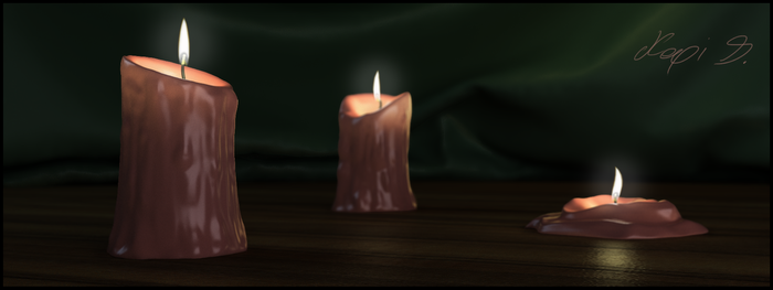 Candles by BrotherOfMySister