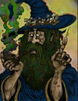 The Wizard - Colour by JoshSkaarup