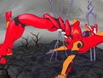Asuka's death Pt. 3 by sky-commander
