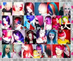 Colorfull Bright Style Hair by cherrybomb-81