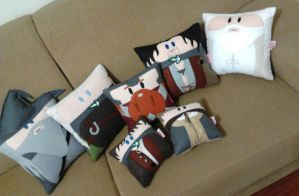 Handmade Lord of the Rings LOTR Plush Pillow Set 2 by RbitencourtUSA