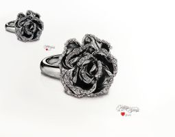 Women's ring -Jewelry drawing by keillly