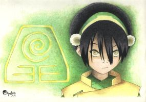 Toph-Earthbender by muttipetra