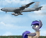 Tanker aircraft inbound by Pandramodo
