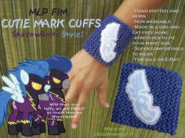 Cutie Mark Cuffs: ShadowBolts Style by InkRose98