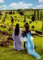 Arwen and Luthien by Angel--Arwen