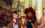 Oliver and Company: Humanized! by s0alaina