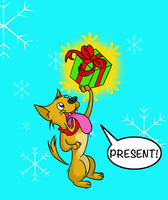 Christmas Is About Chihuahuas...and Presents by LuckyJackal