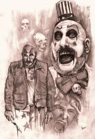 Captain Spaulding by Alleycatsgarden