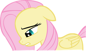 Sad Fluttershy by PressToShoot