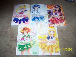 My Sailor Moon manga collection by Snivy94