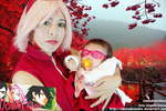 Sakura And Sarada Uchiha Cosplay by SAkuRAdeSAsuKE