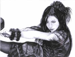 Amy Lee by cowluva