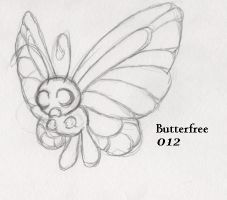 012-Butterfree by Giggles-the-Panda