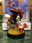 My custom Shadow the Hedgehog amiibo by HyperShadow92