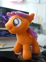Finished Scootaloo Commissoin by LilWolfStudios