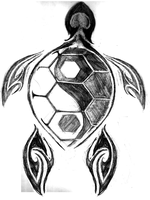 Turtle Tattoo Request Sketch by moonwalker2091