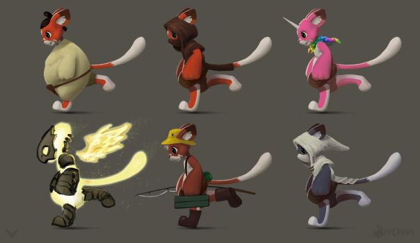 character variations by Jerner