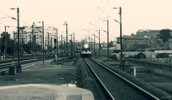 Train and station by CNunes